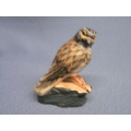 Bird of Prey Hawk Figurine Made from Stone