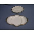 Vintage Anchor Hocking Fire King Ware Dividing Dishes