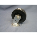 "Faultless 6"" Hard Caster Wheel Lock Swivel"