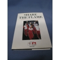 Calgary 88' Winter Olympic 'Share the Flame' HC Book