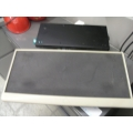 Beige Black Keyboard Tray Undermount Side-Side