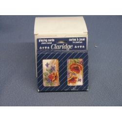 Claridge Double Pack of Playing Cards, Plastic Coated