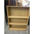 Light Oak Book Shelf  36 x 12 x 48