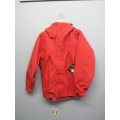 Gore-Tex Waterproof Jacket Litetrax Red Small w Hood