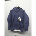 Gore-Tex Waterproof Jacket Litetrax Navy Blue Medium w Hood