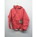 Gore-Tex Waterproof Jacket Litetrax Wine Red Medium w Hood