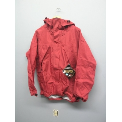 Gore-Tex Waterproof Jacket Litetrax Wine Red Small w Hood