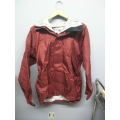 EntrantDT 10000 Toray Weatherproof Jacket Burgundy XS w Hood