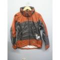 EntrantV Toray Weatherproof Jacket Rust Charcoal Medium w Hood