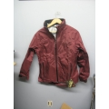 EntrantDT 10000 Toray Weatherproof Jacket Burgundy Small w Hood