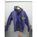 Gore-Tex Waterproof Jacket Litetrax Purple Medium w Hood