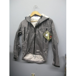 EntrantV Toray Weatherproof Jacket Light Grey Medium w Hood