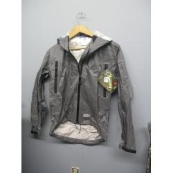 EntrantV Toray Weatherproof Jacket Light Grey Extra Small w Hood