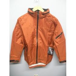 EntrantV Toray Weatherproof Jacket Rust Checkered Large w Hood