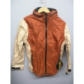 EntrantV Toray Weatherproof Jacket Rust Beige Large w Hood