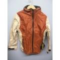 EntrantV Toray Weatherproof Jacket Rust Beige Large w Hood