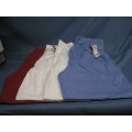 Lot of 4 Scrubs Large Barco Pants Red White(2) Blue