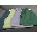 Lot of 4 Scrubs Large Landau Pants Teal Green Blue