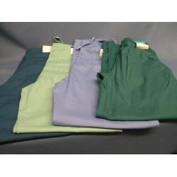 Lot of 4 Scrubs Landau Pants Teal Green Blue - L