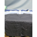 Lot of 4 Landeau Scrub Shirts navy Lt Blue Dark Blue Beige - XXL