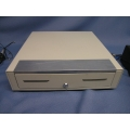 Beige EP107 11 Slot Cash Drawer with lock, No Key