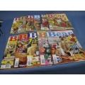Lot of 11 Australian Bear Creations Magazines 1
