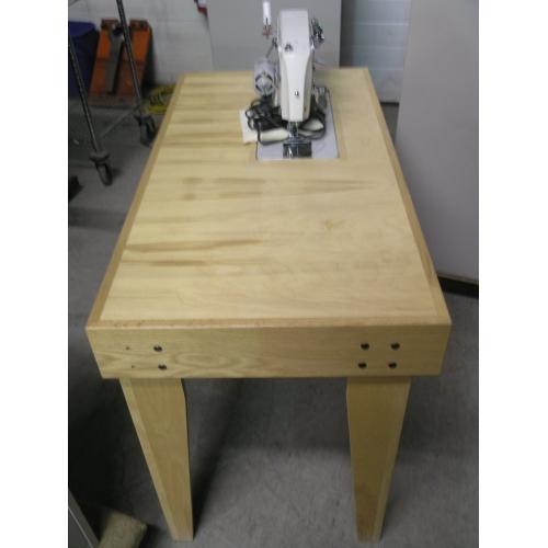 Viking 40 Sewing Machine On Custom Sewing Table Allsoldca Buy Stunning Custom Sewing Machine Table