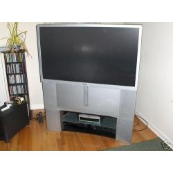 """Sony Widescreen 46"""" KP-46WT500 Rear Projection HDTV"""