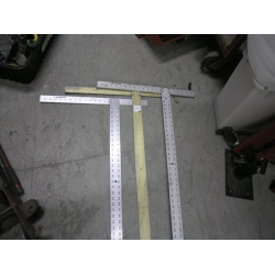 """Lot of 2 48"""" Drywall Squares"""