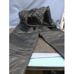 Black Winter Snow Pants Large