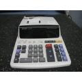Sharpe EL-1607R Printing Calculator Adding Machine