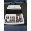 Sharpe EL-2615P III 12 digit Printing Calculator Adding Machine