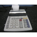 Sharpe EL-1850 Printing Calculator 2 Color Adding Machine