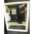 White Single Door Mirror Medicine Storage Cabinet 15x5x19
