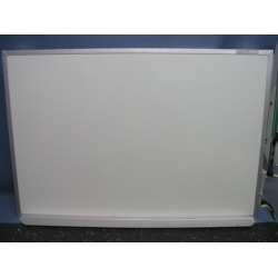 """30"""" x 20"""" Magnetic Whiteboard with Hooks"""
