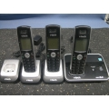 Lot of 3 Vtech Dect 6.0 Cordless Telephone DS6211-4