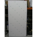 "42"" x 137"" Magnetic Whiteboard w Chrome Frame - New"