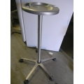 34 Tall Grey Rolling Spawhite  Nail Tray Cart