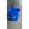 Small Office Blue Garbage / Recycle Bin