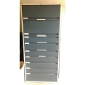 Data Tape File Cabinet / Microfiche Storage Shelves 78 x 36 x 15