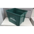 Green Stacking Garbage / Recycle Bins 20 x 16.5 x 15.5