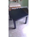 IKEA LACK Black Square Side Table, 22 x 22 in.