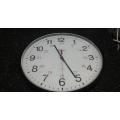 Bates 12/24 Quartz Wall Clock
