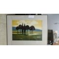 Denison Gallery Commercial Art Print Landscape Grove