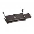 Fellowes under desk sliding keyboard drawer w sliding mouse tray