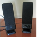 "10"" Logitech S-0152A1 computer speakers"