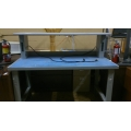 Metal Base Electronics Test Work Bench, Upper tier power