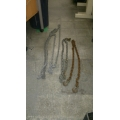 Lot Of 19-20 ft Chain, 6 Ft. Chain, 7 foot Tow Chain
