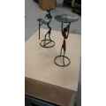 African  Lady Candle Stand