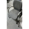 Black Steelcase Guest Chair With Arms